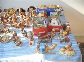 Several Nativity Pieces