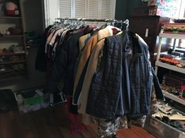 More coats and clothing!