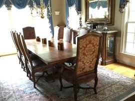 Century chairs still available. Dining room table sold.