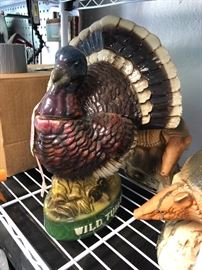 Wild Turkey decanters
