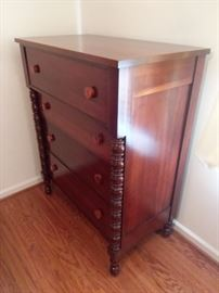 Davis Cabinet Company, part of a beautiful set of cherry bedroom furniture.
