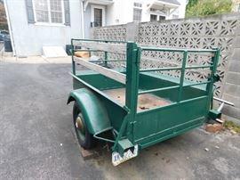 6' heavy duty trailer