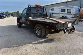 1991 GMC 1 Ton Flatbed 4WD...