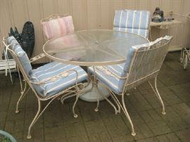 Woodard patio set