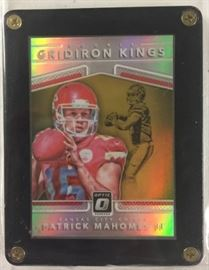 2017 Optic Patrick Mahomes Gridiron Kings Silver P ...