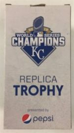 2015 World Series Trophy Kansas City Royals Replic ...
