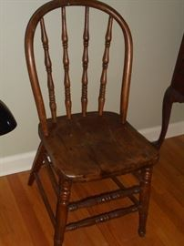Early American wood chair
