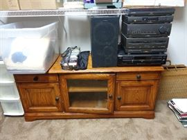 tv stand, electronics