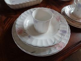 set of Mikasa china