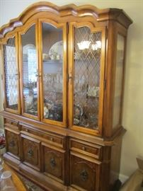 CHINA HUTCH BY STANLEY