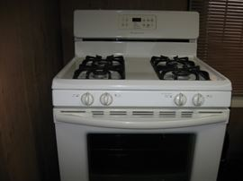 Like-new stove