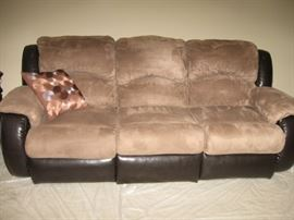 BrownBeige sofa