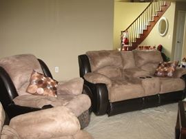 BrownBeige chair  sofa