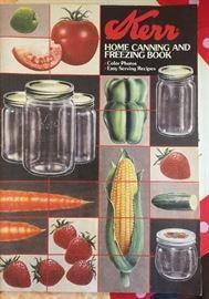 Old canning Kerr cookbook
