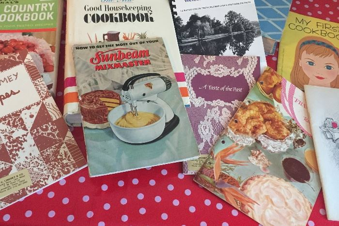 Small vintage cook books