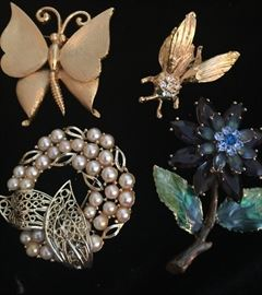 More vintage brooches