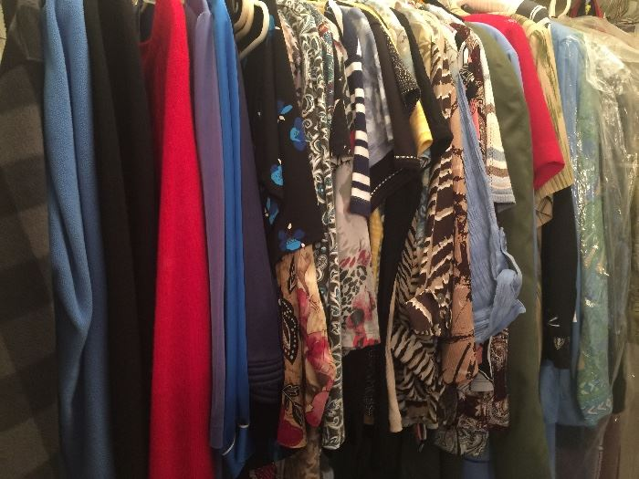 Lots of nice clothes