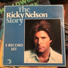 Signed Ricky Nelson Record