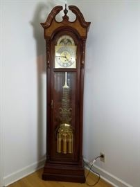 Burled Cherry Grandfather Clock http://www.ctonlineauctions.com/detail.asp?id=760606