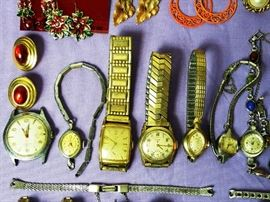 136+ Earrings and Watches:  http://www.ctonlineauctions.com/detail.asp?id=764093