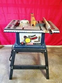 """Ryobi 10"""" Table Saw:  http://www.ctonlineauctions.com/detail.asp?id=764537"""
