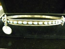 Sterling Silver & Turquoise Cowboy Hat Band