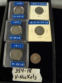 Coins, V-Nickels