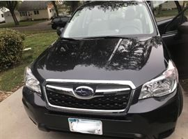 2016 Subaru Forester only  18,750 miles, available now!