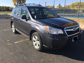 2016 Subaru Forester only 18,900 Miles! Balance of warranty to 4/9/19.  $19,500 or best offer.  Note there is a minimum in the vehicle.