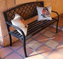 Outdoor bench - iron/no rust