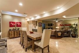 View of Dining Room and adjoining Living Room items available for sale