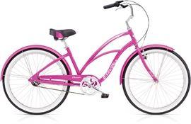 Pink Electra Beach Cruiser