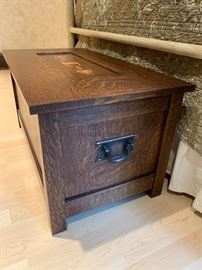 Gustav Stickley Collectors Chest.  Like new