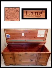 Classic Lane Cedar Chest made in Virginia.