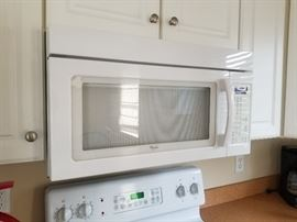 Under-cabinet mount microwave oven mfg. 2009