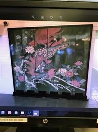 Massive Antique 1920's  Chinese dragon stone screen 8' appx. Maybe Chimera $1200