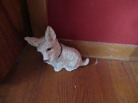 chalkware scotty dog.