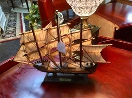 Small Wooden Ship