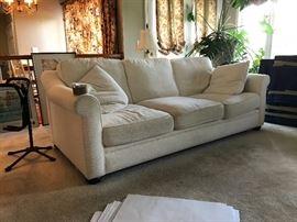 Nice downfilled sofa