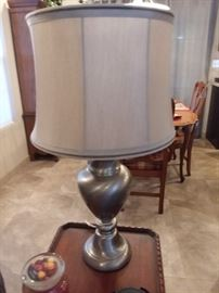 One of two lamps