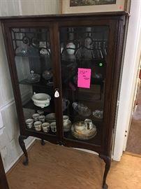 Antique Curio cabinet was 450 now 150