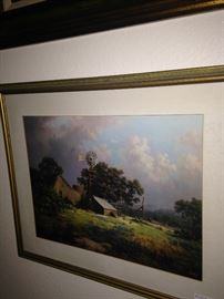 Another Dalhart Windberg framed picture