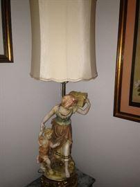 Large vintage lamp