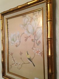 Bamboo style frame