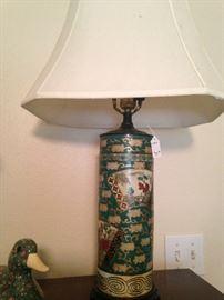 Asian style lamp . . .
