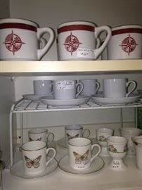 Other cups and saucers