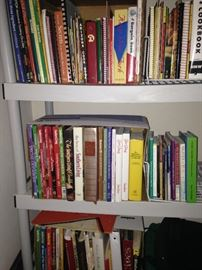 Many cookbooks