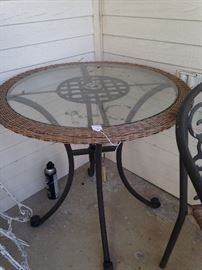 The perfect table for a small patio.