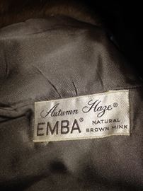 """Autumn Haze"" - EMBA (natural brown mink)"