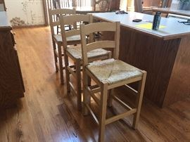 light maple counter stools
